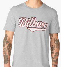 Bilbao - Spain - Espana - Vintage Sports Typography Men's Premium T-Shirt