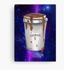 Koffein Leinwanddruck