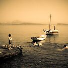 Greece, a child's life by Cvail73