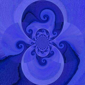 Blue Pattern by CarolineLembke