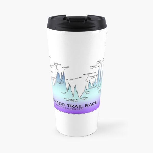 CTR Profile (DRO - DEN) BLUE Travel Mug