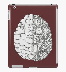 Brain Art and Sience Black and White iPad Case/Skin