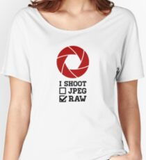 I Shoot? - Photography Women's Relaxed Fit T-Shirt