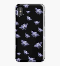 Glowing bees iPhone Case/Skin