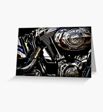 Harley davidson greeting cards redbubble 327harley davidson greeting card engine greeting card m4hsunfo