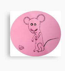 Mouse - Souris - Martin Boisvert Impression métallique