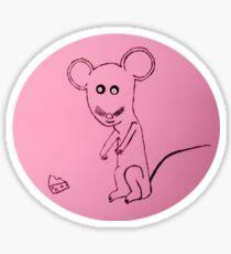 Mouse - Souris - Martin Boisvert Sticker