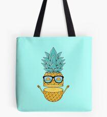 Pineapple Summer Sunglasses Tote Bag
