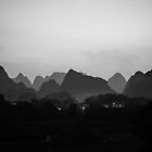 Yangshuo China by distracted