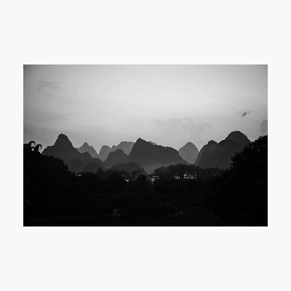 Yangshuo China Photographic Print