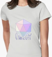 Chaotic Gay Women's Fitted T-Shirt