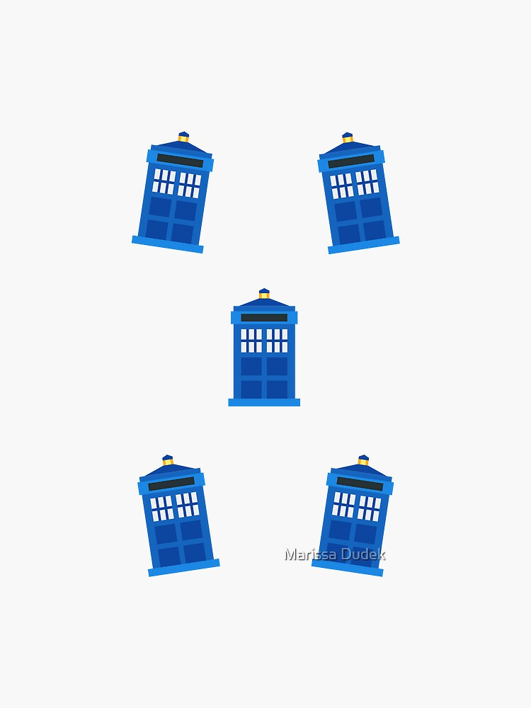 Mini Police Boxes by yourfangirltv