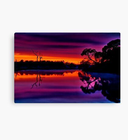 """Misty Magical Morning"" Canvas Print"