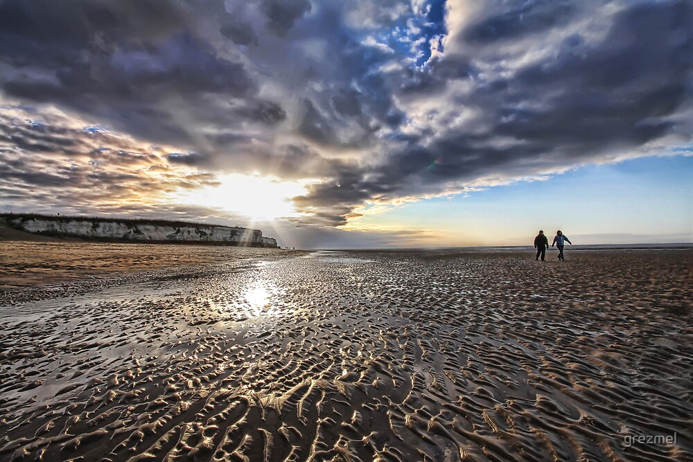 Hunstanton Beach by grezmel