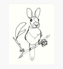 Bird or squirrel Art Print
