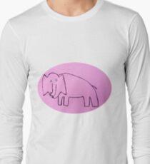 Éléphant - Martin Boisvert Long Sleeve T-Shirt