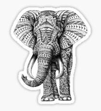 Designed Elephant  Sticker
