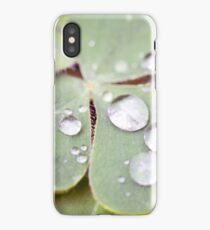 Drops on the Leaf iPhone Case/Skin