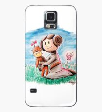 Princess Leia and Wookiee Doll Chewbacca STAR WARS fan art Case/Skin for Samsung Galaxy