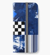 Blue Diamond iPhone Wallet/Case/Skin