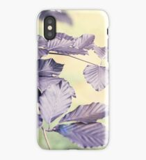 Calm Leaves iPhone Case/Skin