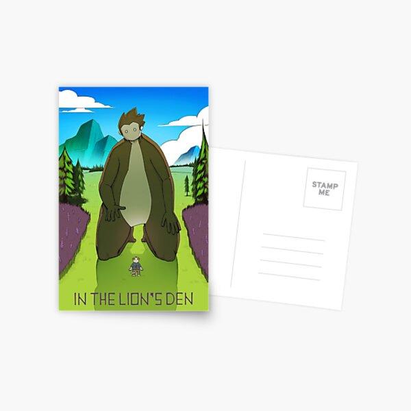 A Big Encounter Postcard