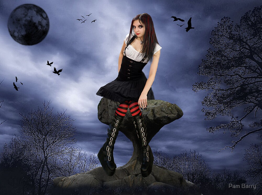 Little Gothic Girl by Pam Barry