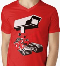 Resist Surveillance Mens V-Neck T-Shirt