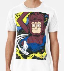 Camiseta premium Hank Hill Galactus Silver Surfer