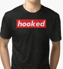 Hooked / Words That Mean Something Totally Different When You're A Gamer  Tri-blend T-Shirt