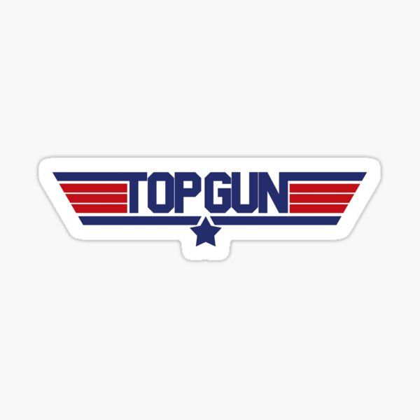 TOPGUN Sticker