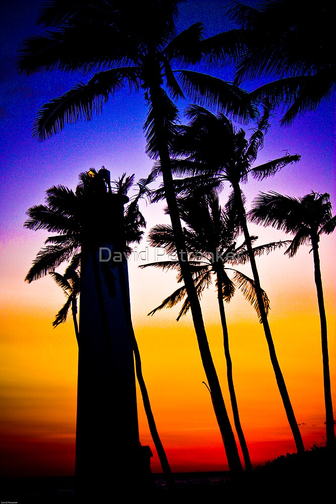 Hawaii Sunset (take two series) by David Petranker