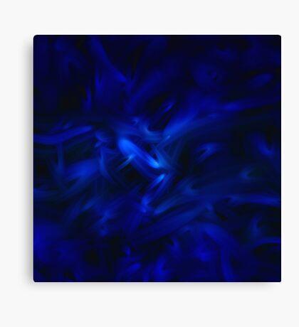Feeling Blue Canvas Print