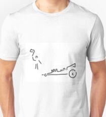 dragster moto sport run car Unisex T-Shirt