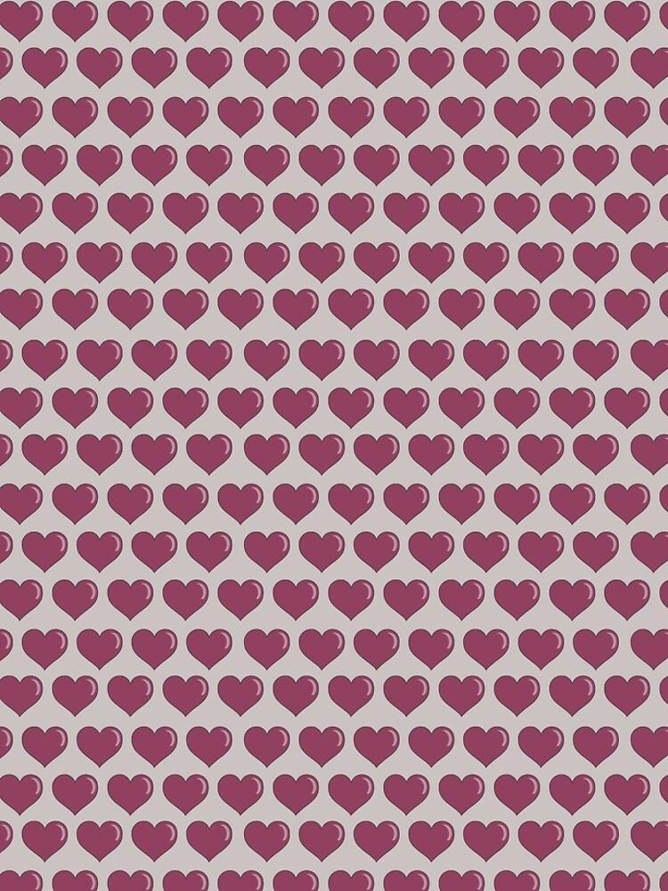 Valentine's Day Hearts by MeredithWatson