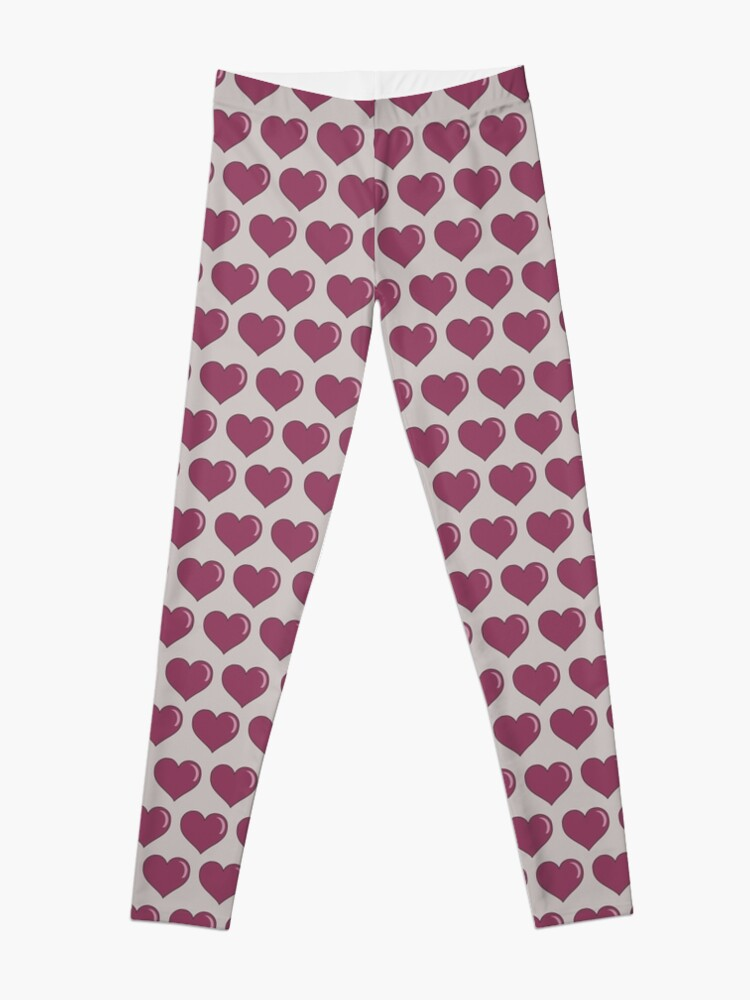 Alternate view of Valentine's Day Hearts Leggings