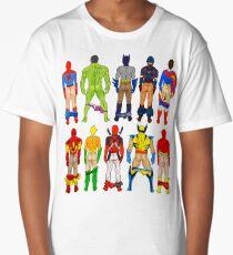 Superhero Butts Long T-Shirt