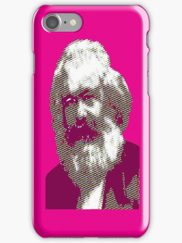 Pink Karl Marx by Synastone
