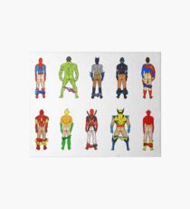 Superhero Butts Art Board