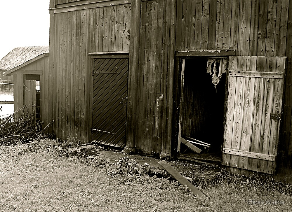 The Old Barn by Elliott Walker