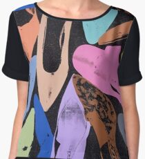 Andy Warhol - Pop Art - Shoes Chiffon Top