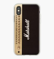 Vinilo o funda para iPhone Marshall Guitar Double Amplifier