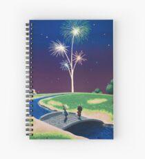 Cuaderno de espiral Año nuevo