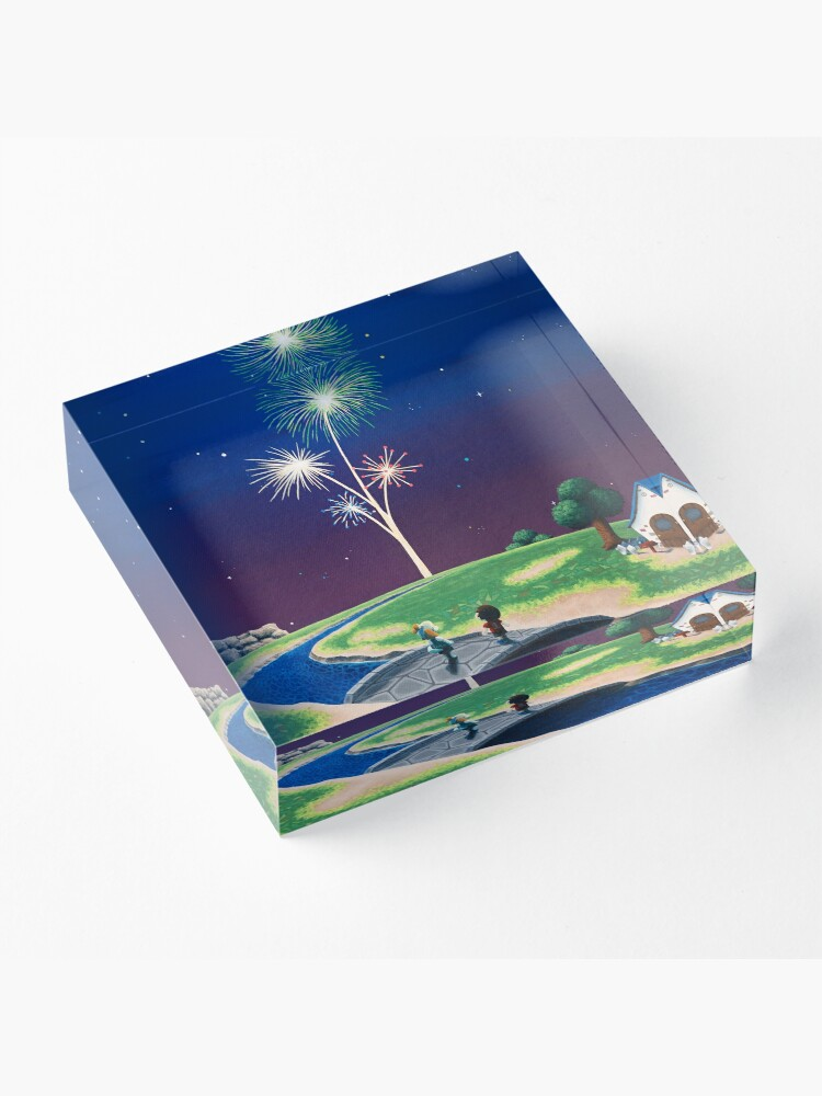 Alternate view of New Year Acrylic Block