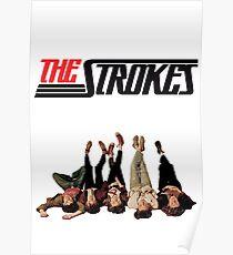 RETRO THE STROKES Poster