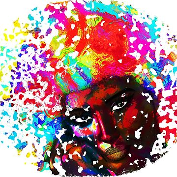 Abstract Afro Art by TK0920