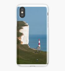 Beachy Head Lighthouse and Cliffs iPhone Case/Skin