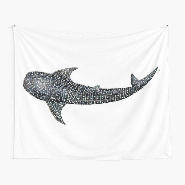 Tiburón ballena Tela decorativa
