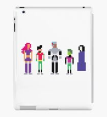 Teen Titans –8 Bit iPad Case/Skin