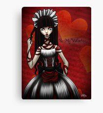 Be My Valentine... Canvas Print
